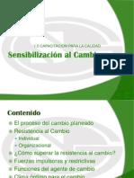 1.0 Sensibilizacion Al Cambio