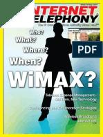 Internet Telephony Magazine, Vol. 12, issue 4, April 2009