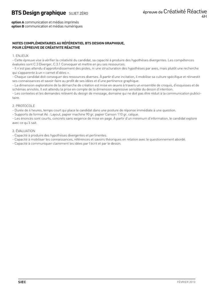 BTS DG Crea Reactive Note Accompagnement   Mise en page   Créativité