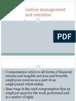 Compensation Management and Retention