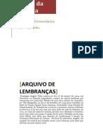 EDIÇÃO E TRANSCRIÇÃO DOMINGOS ANGELO FILHO