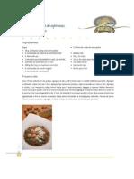Sopa Trigarante de Espinacas