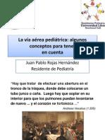 Via Aerea en Pediatria
