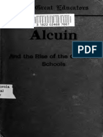 Alcuin and the Rise of the Christian Schools 1912