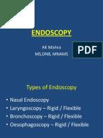 Endoscopy for Undergraduates