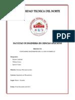 Informe de Micros Contador 0.9