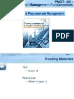 PMGT401-12 Project Procurement Management-04