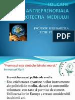 Educatie Antreprenoriala.pptprotectia Mediului 2