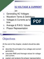 Chapter1 -Alternating Voltage & Current :)