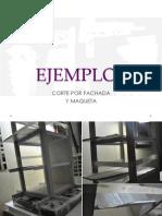 Ejemplos Cortes Por Fachada en Maqueta