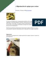 Mantenimiento e Higienización de equipos para cocinas industriales