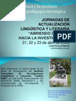 La lectura y la escritura desde una didáctica.ppt abril 2009
