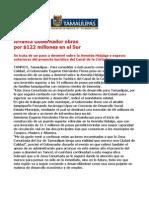 com 0477, 231105 Eugenio Hernández Flores arranca obras en el sur del estado.