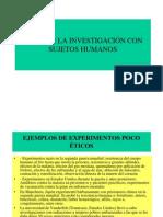 Etica de La Investigacion