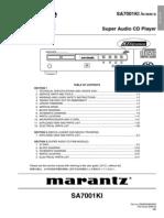 Marantz Sa7001 Sm