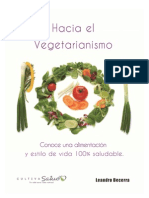 Hacia El Vegetarianism o