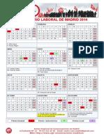 Calendario Madrid 2014