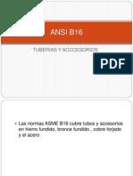 ANSI B16