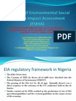 Overview of Environmental Social & Health Impact Assessment (Revised)