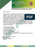 Boletín informativo CSIRT 031