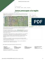 Seguidilla de sismos preocupan a la región