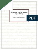 Guide to English Writing