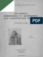 Bals - Influences arméniennes et géorgiennes sur l'architecture roumaine