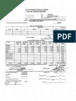 Claude Expense Report