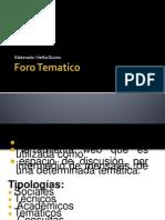 foro tematico.pptx