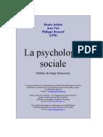 Jodelet Psycho Sociale