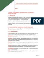 CONCEPTO, CONOCIMIENTOS Y DENOMINACIÓN DE LOS ELEMENTOS Y