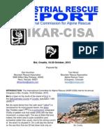 IKAR-CISA 2013 Terrestrial Rescue Report