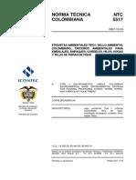 NTC5517 Criterios Ambientales Uso Del Fique