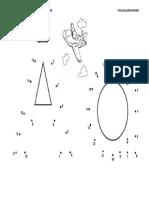 Grafomotricidad Alfabeto Puntuado a z