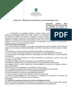 Ed 1 Cbmce Soldado 2013 Edital de Abertura