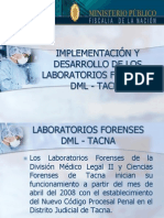 Laboratorios Forenses Ica 2010
