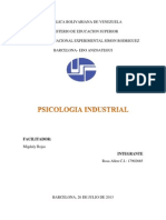 PSICOLOGÍA INDUSTRIAL 1