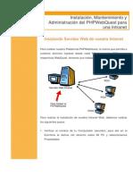 Manual Phpwebquest