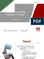 07 WCDMA Handover Principal ISSUE1.0