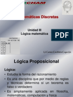 Unidad III Lógica Matemática (1)