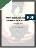 Trabajo final. Biotecnología vegetal