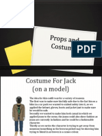 props and costume