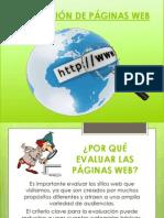 Evaluación de páginas web