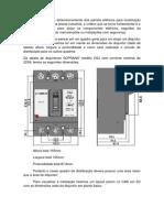 Dimensionamento dos painéis elétricos