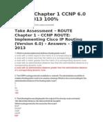 Route Exam Cap 1 Ccnp 6