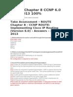 Route Exam Cap 8 Ccnp 6
