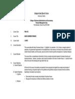 Basic Business Finance 07