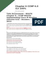 Route Exam Cap 6 Ccnp 6