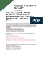 Route Exam Cap 7 Ccnp 6