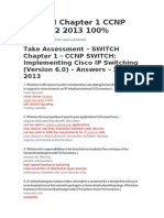 Switch Exam 1 Ccnp 6